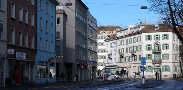 Anwalt zentral Zuerich Tramstation Bezirksgericht Zürich